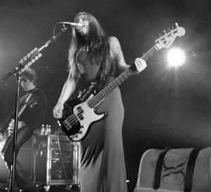 Photo of Paz Lenchantin from A Perfect Circle