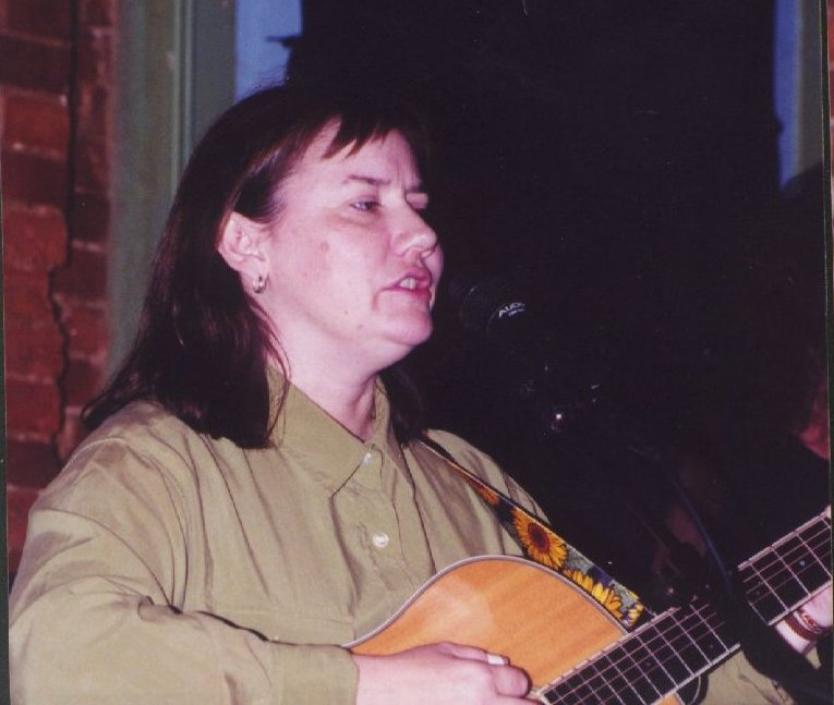 Photo of Kate Campbell at the Rudyard
