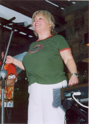 Photo of Patty Butcher at Equus Run Festival on June 15, 2004