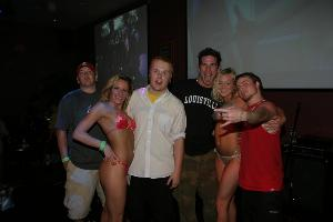 Photo of 7 Day Sun with the finalists of the Bikini Contest, Image taken from www.7daySundaynet