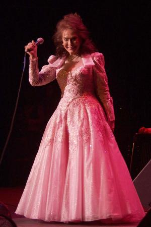 Photo of Loretta Lynn smiling