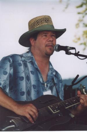 Photo of Eric Noden <BR>at Blues To the Point <BR>September 11, 2004