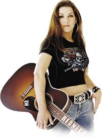 Photo of Gretchen Wilson will be here for the party at Freedom Hall on August 18. Big & Rich will open.