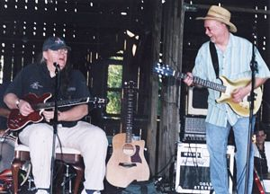 Photo of Nick Stump & Cole Prior Stevens at Smith-Berry Vineyards