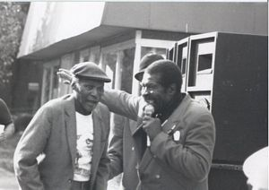Photo of Henry Woodruff & Fred Murphy at the 1994 Garvin Gate Festival