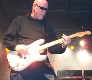 Photo of Guitarist extraordinaire Mark Kendall, the original guitarist of Great White