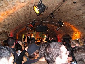Photo of Shades of 1962: A packed Cavern Club on Thursday, March 9, as local tribute band the Mersey Beatles play.