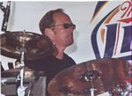 Photo of Hellfish's Jeff McAllister at the Blues & Jazz Fest
