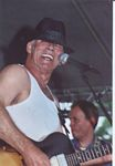 Photo of Hellfish's Jimmy Gardner at the Blues & Jazz Fest