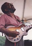 Photo of Wendell Holmes at the 1994 Chicago Blues Festival