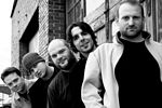 Photo of The Muckrakers, from left: Brian Meurer, Micah Gerdis, David Sparks, Rob Carpenter, John Ruby