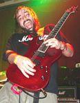 Photo of Caldera guitarist Chris Marple at Headliners, December 11, 2005