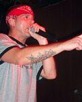 Photo of David 'Sailor' Bryant of Surviving Thalia at Headliners on December 11, 2005