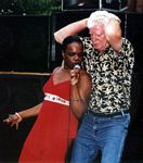 Photo of Sheryl Rouse and the Boogie Man, 10th Street Blues Festival, June 10, 2006