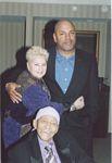 Photo of Jimmy Scott with Jeanie Scott & Tracy Porter