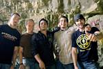 Photo of Wasted Days: From left Travis Beals, Chad Nugent, Chris Davis,Jeff Bockhold and Klint Kaiser